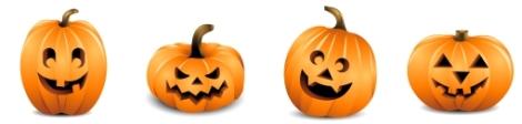 halloweenrowofpumpkins1